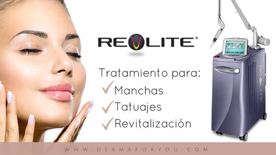 RevLite - Tratamiento para manchas, tatuajes y revitalización